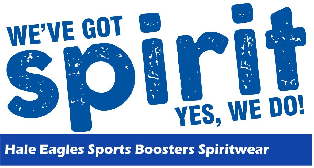 Spiritwear sign with link to ordering